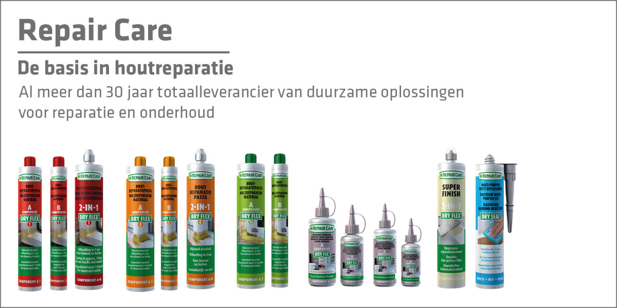 Repair Care - De basis in houtreparatie